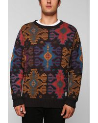 Urban Outfitters - Multicolor Lifetime Xavier Pattern Sweater for Men - Lyst