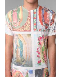 Urban Outfitters | Red Mary Printed Tee for Men | Lyst
