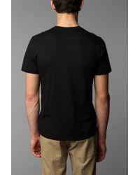 BDG | Black Slim-Fit Cotton Crew-Neck Tee for Men | Lyst