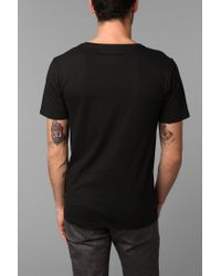 BDG - Black Bdg Wide Neck Tee for Men - Lyst