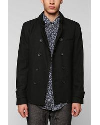 Urban Outfitters | Black D Collection D Peacoat for Men | Lyst