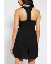 Urban Outfitters | Black Ecote Lola Studded Racer Back Dress | Lyst