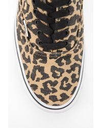 Urban Outfitters - Multicolor Vans Authentic Van Doren Leopard Print Womens Sneaker - Lyst