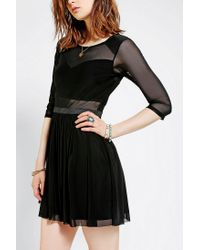 Urban Outfitters - Black Silence Noise Shortcut Dress - Lyst