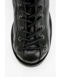 Urban Outfitters - Black Sixty seven Darian Laceup Boot - Lyst