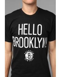 Urban Outfitters | Black Sportiqe Brooklyn Nets Tee for Men | Lyst