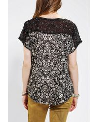 Urban Outfitters - White Ecote Blue Sparrow Tee - Lyst