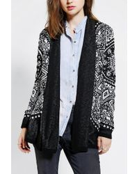 Urban Outfitters | White Staring At Stars Sunburst Openfront Cardigan | Lyst