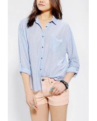 Urban Outfitters | Blue Bdg Sebastian Buttondown Shirt | Lyst