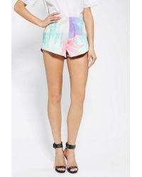 Urban Outfitters | Multicolor Cameo Frozen Fires Photoprint Short | Lyst