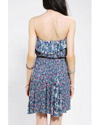 Urban Outfitters | Kimchi Blue Printmix Strapless Dress | Lyst