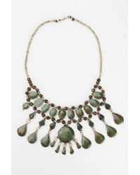 Urban Outfitters - Red Selma Stone Necklace - Lyst