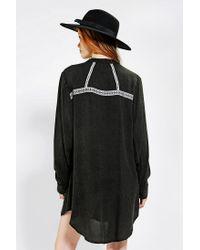 Urban Outfitters - Gray Minkpink X Uo Accidental Hero Prairie Dress - Lyst