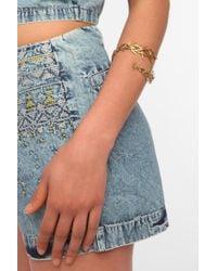 Urban Outfitters - Metallic Boynyc Thorn Cuff Bracelet - Lyst