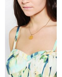Urban Outfitters - Metallic Tatty Devine Crown Necklace - Lyst