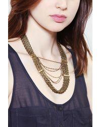 Vanessa Mooney - Metallic Orion'S Belt Necklace - Lyst
