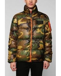 Urban Outfitters | Multicolor Alpha Industries Ice Vapor Camo Jacket for Men | Lyst