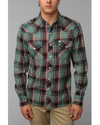 Urban Outfitters | Green Salt Valley Cassidy Western Shirt for Men | Lyst