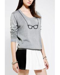 Urban Outfitters - Gray Cooperative Suzy Pullover Sweater - Lyst