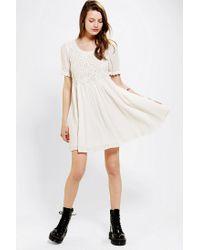 Urban Outfitters | White Minkpink X Uo Hazel Crochet top Dress | Lyst