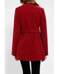 Urban Outfitters - Red Jack By Bb Dakota Camelot Belted Jacket - Lyst