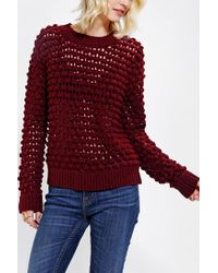 Urban Outfitters | Red Lucca Couture Chunky Bauble Sweater | Lyst