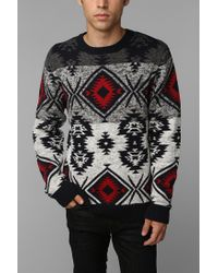 Urban Outfitters | Blue Commerce Fair Isle Sweater for Men | Lyst