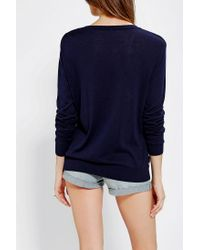 Urban Outfitters - Blue Cooperative Suzy Pullover Sweater - Lyst