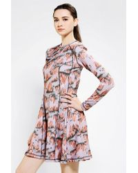 Urban Outfitters - Pink Opening Ceremony Seamed Rock Dress - Lyst