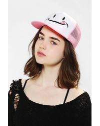 Urban Outfitters | Pink Married To The Mob Yum Trucker Hat | Lyst