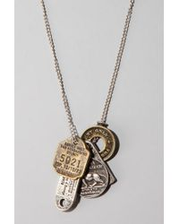 Urban Outfitters | Metallic Many Coin Necklace for Men | Lyst