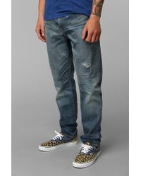 Urban Outfitters | Blue Levis 508 Shredded Jean for Men | Lyst