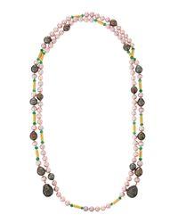 Assael | Multicolor 18k Multi-strand Akoya Pearl | Lyst
