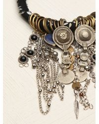 Free People | Black Wrapped Charm Boot Jewelry | Lyst