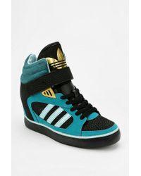 Urban Outfitters - Green Amberlight Hidden Wedge Hightop Sneaker - Lyst
