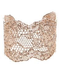 Aurelie Bidermann - Metallic Lace Cuff - Lyst