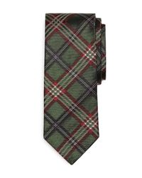Brooks Brothers - Green Signature Tartan Tie for Men - Lyst
