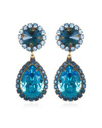 DANNIJO | Blue Monaco Earrings | Lyst