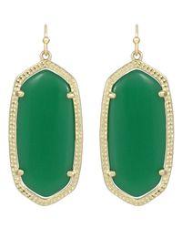Kendra Scott | Elle Earrings Green | Lyst
