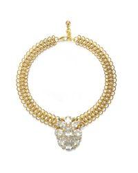 Lulu Frost   Metallic Snake Necklace 2   Lyst