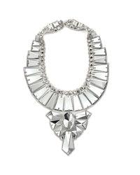 Ranjana Khan | Metallic Mirror Deco Necklace | Lyst