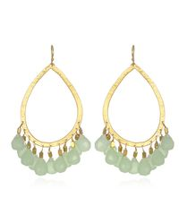 Wendy Mink | Metallic Peruvian Calcite Dangle Earrings | Lyst