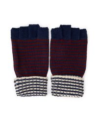 Forever 21 - Blue Favorite Fingerless Gloves for Men - Lyst