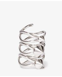 Forever 21 | Metallic Spiked Knuckle Ring | Lyst
