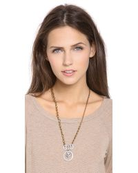 Lulu Frost - Metallic Stardust Pendant Necklace - Lyst