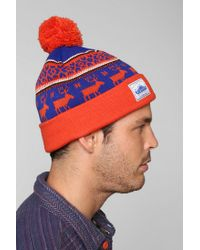 1de10ccd96ad Urban Outfitters Penfield Kember Pom Beanie in Red for Men - Lyst