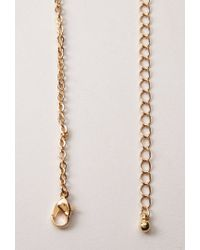 Forever 21 - Metallic Heart Necklace - Lyst