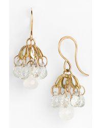 Melissa Joy Manning | Metallic Small Chandelier Earrings | Lyst