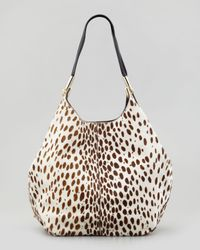 Elizabeth and James - Multicolor Spotted Calf Hair Shopper Tote Bag - Lyst