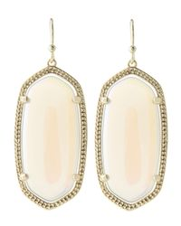 Kendra Scott | Natural Elle Earrings Abalone Shell | Lyst